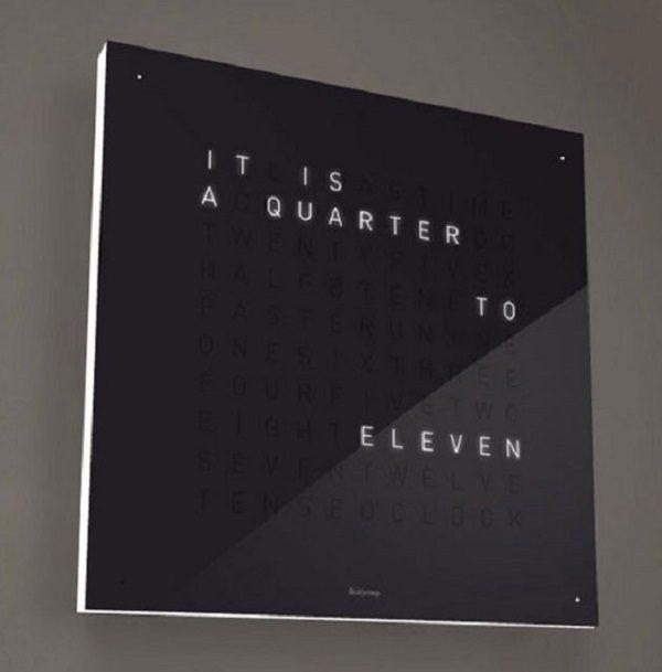 Qlocktwo Text Wall Clock