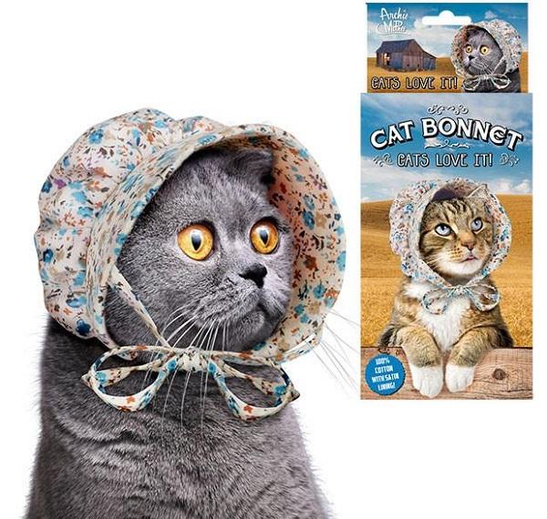 Cotton Bonnet for Cats