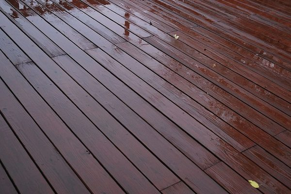 Re-stain Your Decking