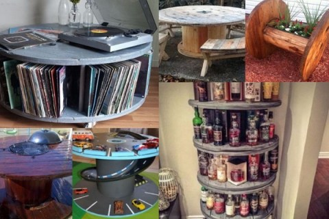 Ten Things to Can Make and Do With a Wooden Cable Reel