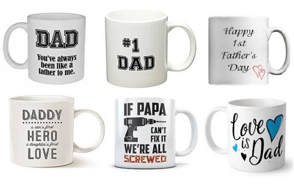 Personalised Fathers Day Mug