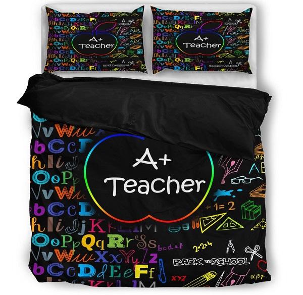 Bedset Gift Idea for a Teacher