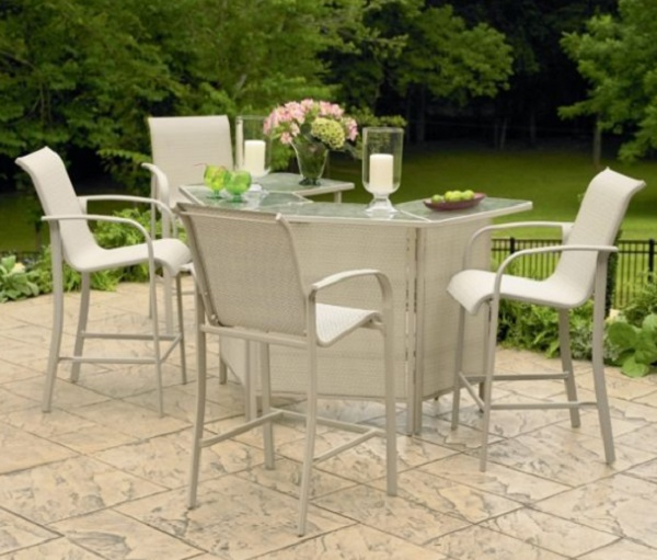 Quaqua 8 Piece Patio Bar Set