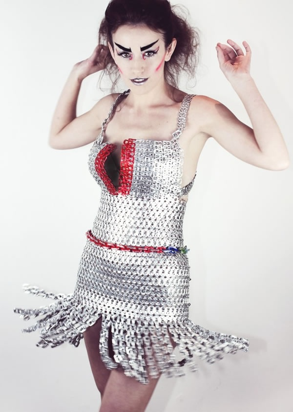 Make Clothes Using Can Pull Tabs