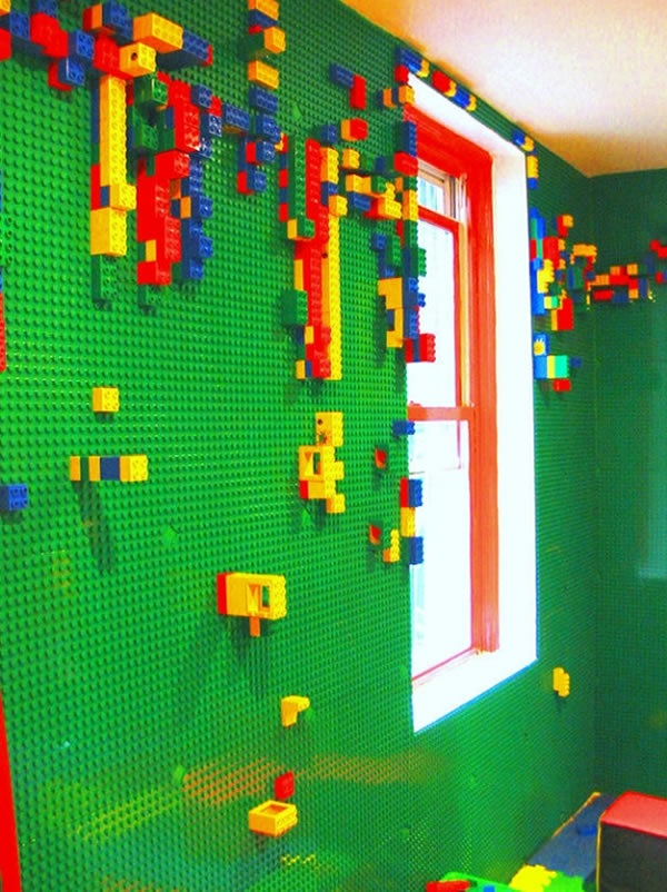 Your Very Own LEGO Wall