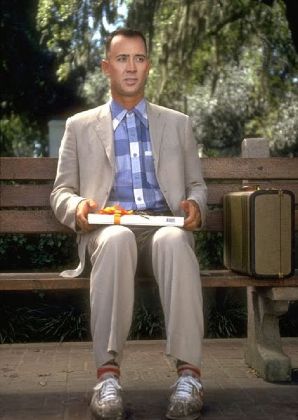 Nicolas Cage as Forest Gump