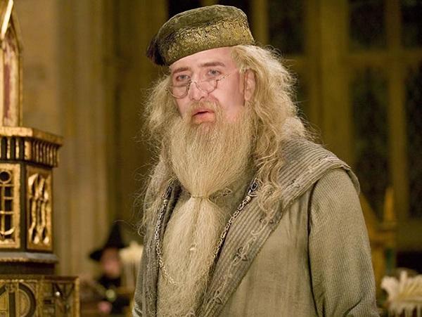 Nicolas Cage as Albus Dumbledore