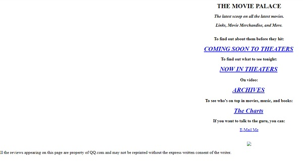 This is what QQ.com used to look like!