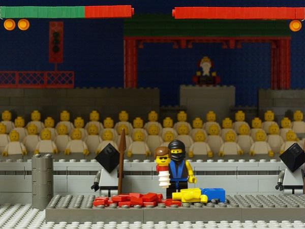 LEGO Mortal Kombat Scene (Arcade)