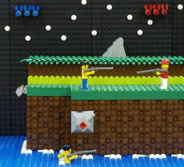 LEGO Contra Scene (NES)