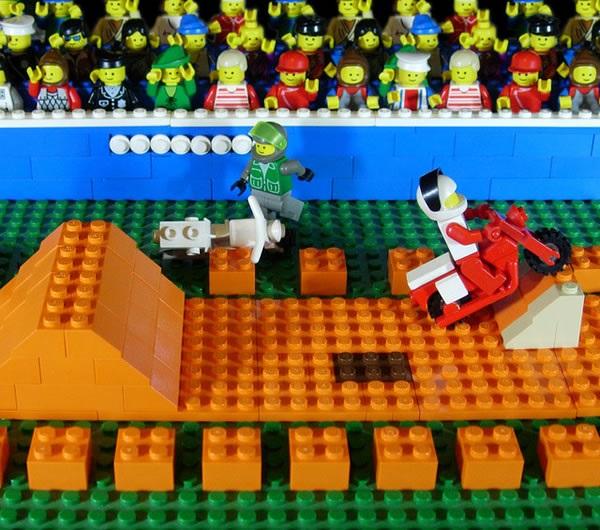 LEGO Excitebike Scene (NES)