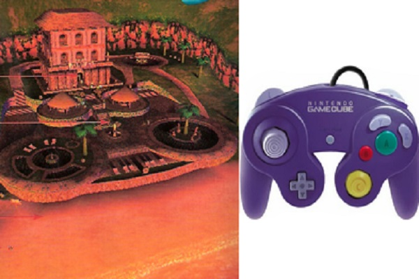 Sirena Beach is a Huge GameCube Controller