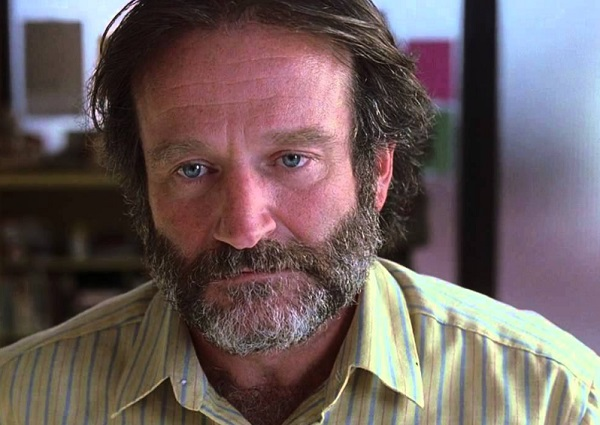 """Robin Williams in the movie """"Good Will Hunting"""""""