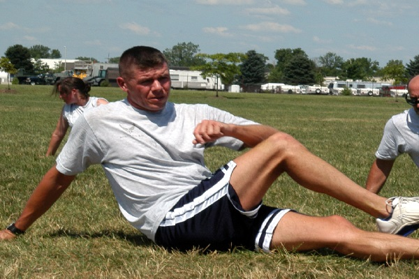 Stretch after training.