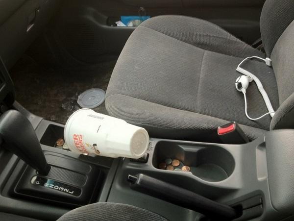 Car Cup Holder Fail