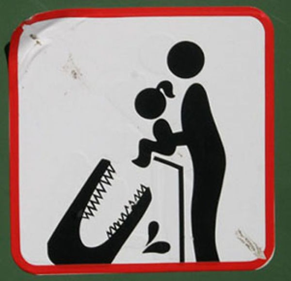 Don't Feed Your Baby to the Crocodiles