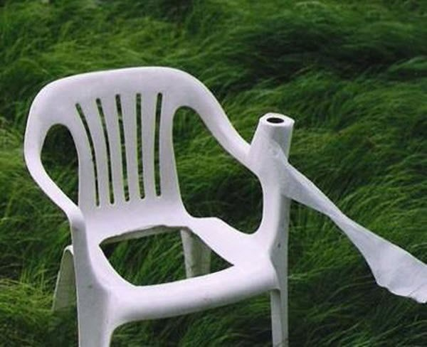 So That's What Happened to my Garden Chair