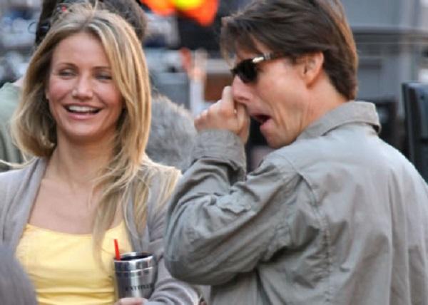 Tom Cruise Picking His Nose
