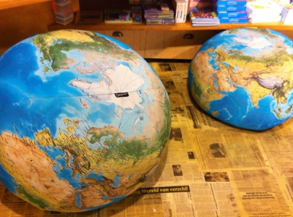 Earth Globe Beanbag Chair