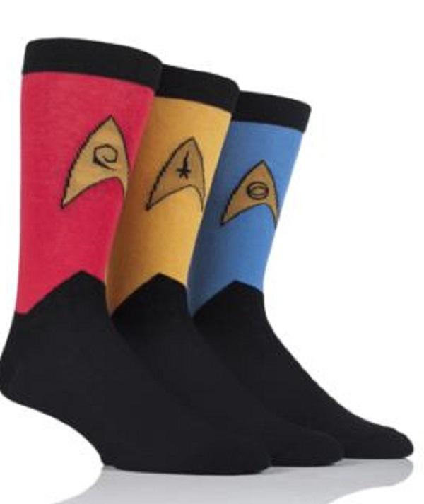 Star Trek Uniform Sock Gift Sets (Him)