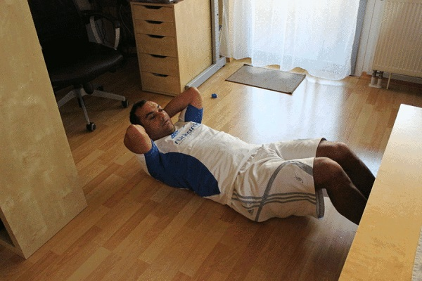 Sit-ups/Crunches - Ways to Exercise Without Equipment