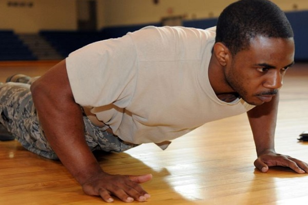 Push-Ups - Ways to Exercise Without Equipment