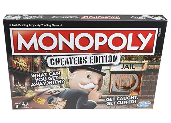 Monopoly: Cheaters Edition Board Game