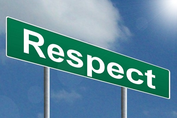 Confidence and Respect is a 2-Way Street