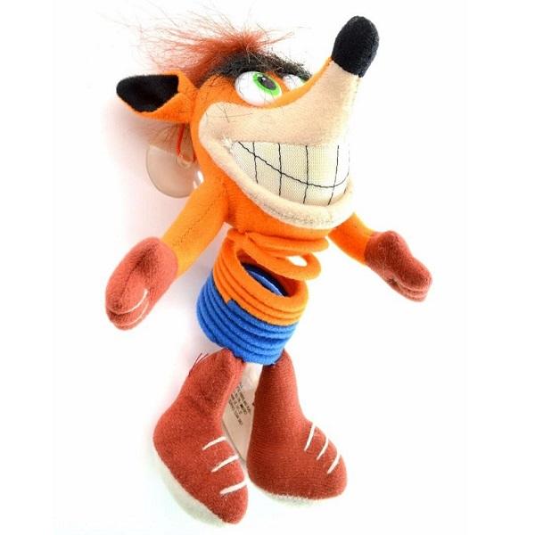 """Crash Bandicoot 9"""" Hanging Slinky"""