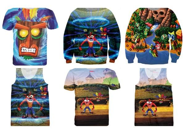 Crash Bandicoot Clothing