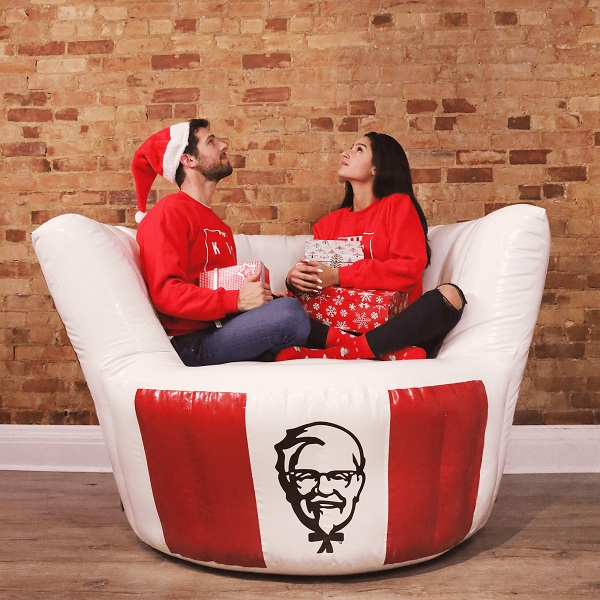 KFC Inflatable Chicken Bucket Chair