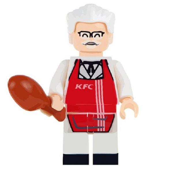 KFC Colonel Sanders Lego Figure