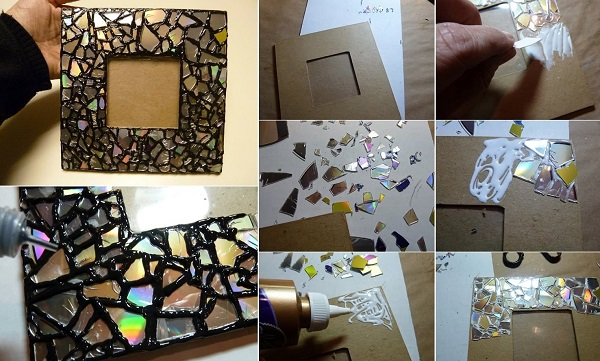 A Picture Frame Made From Recycled Glass