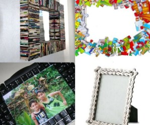Ten Amazing Picture Frames Made From Recycled Things