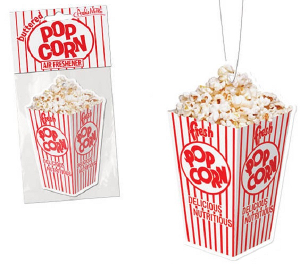 Fresh Popcorn Car Air Freshener