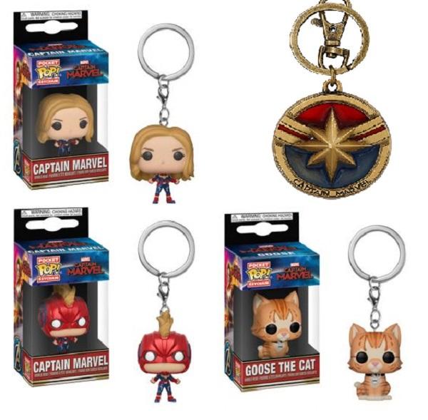 Funko Pop! Captain Marvel Keychains