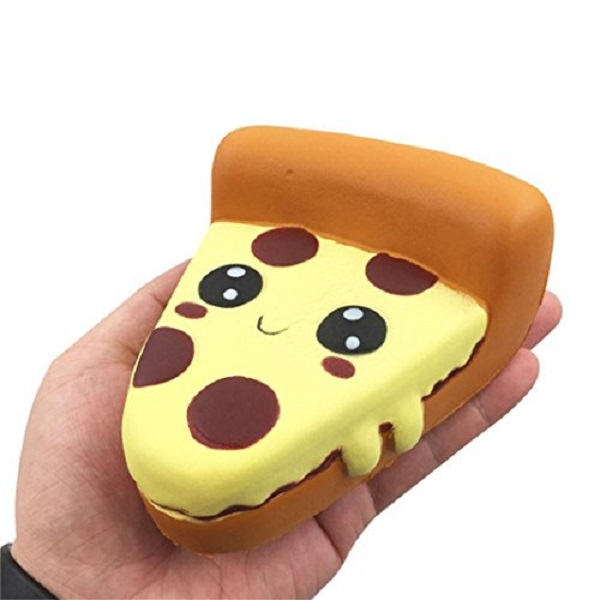 Pizza Slice Squishy Stress Toy