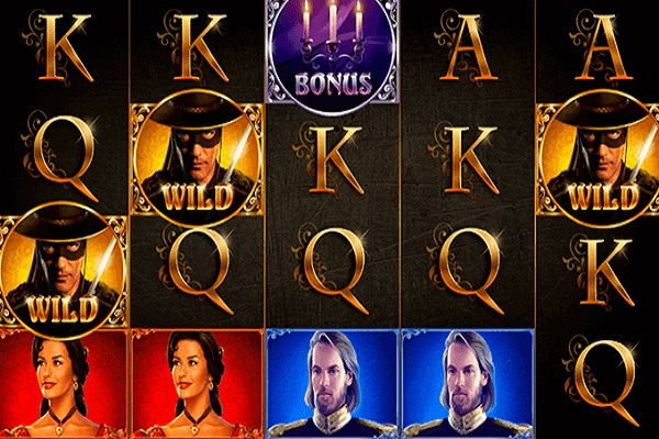 The Mask of Zorro Online Slot Game