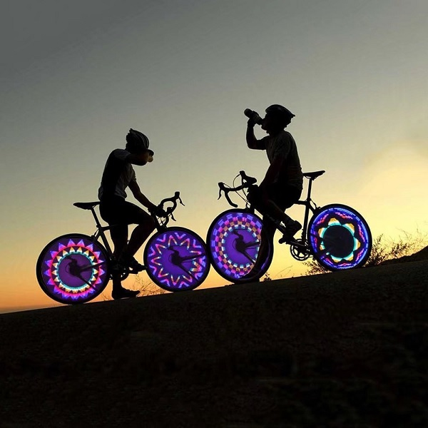 Colourful Bicycle Wheel Light with 42 Patterns