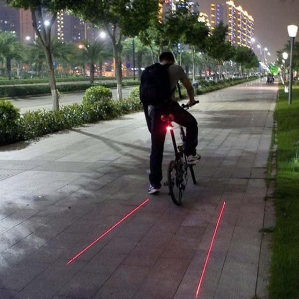 Bike Laser Tail Light