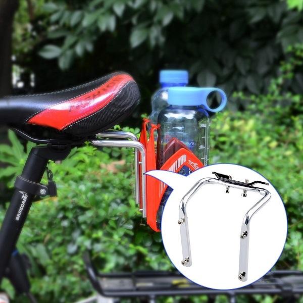 Aluminum Bicycle Saddle Water Bottle Holder