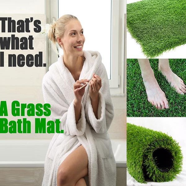 Grass Bathmat