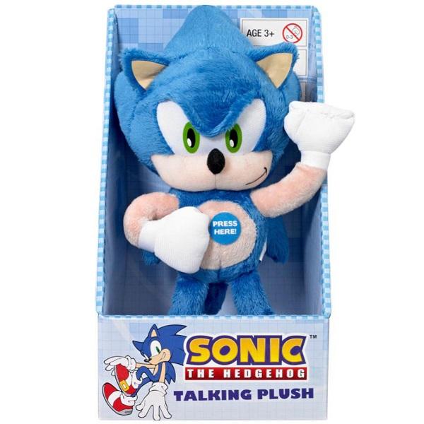 Sonic the Hedgehog Talking Plush