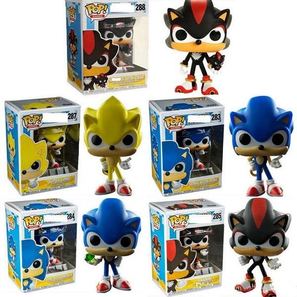 Sonic the Hedgehog Funko Pop Vinyl Figures