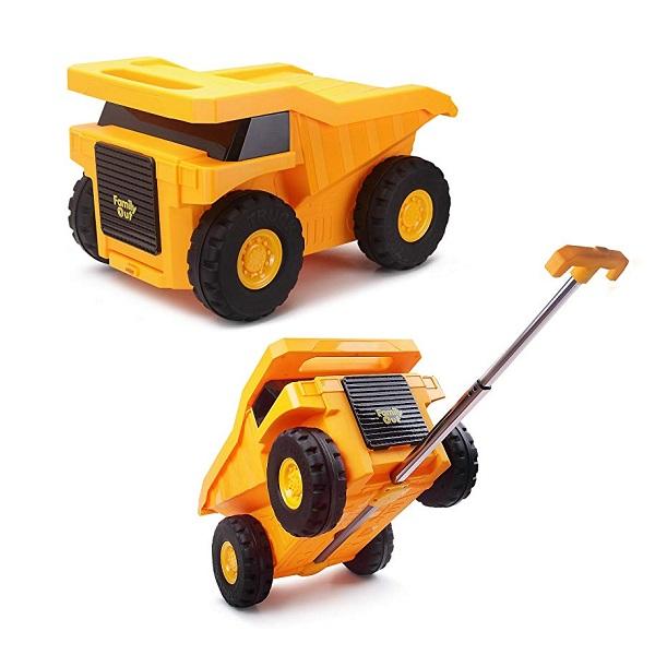 Dumper Truck Ride-On Suitcase for Children