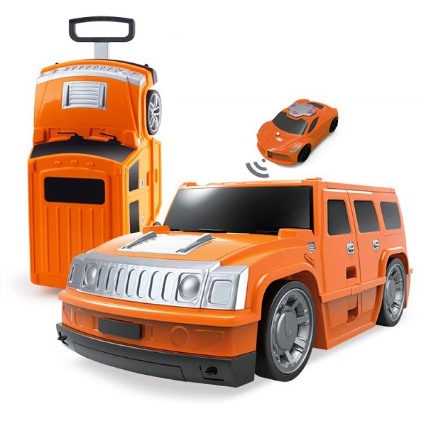 R/C Hummer Ride-On Suitcase for Children