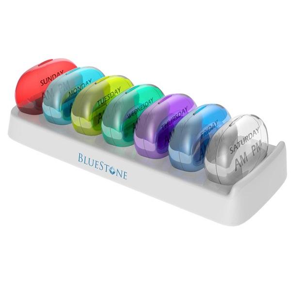 Stylish 7-Day Pill Organiser by Bluestone