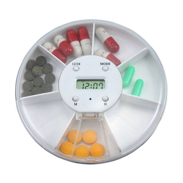 PRO2Medical - Electronic Timed Pill Box