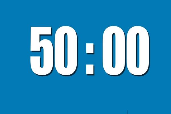 Make Those 50 Minutes Last 1 Hour