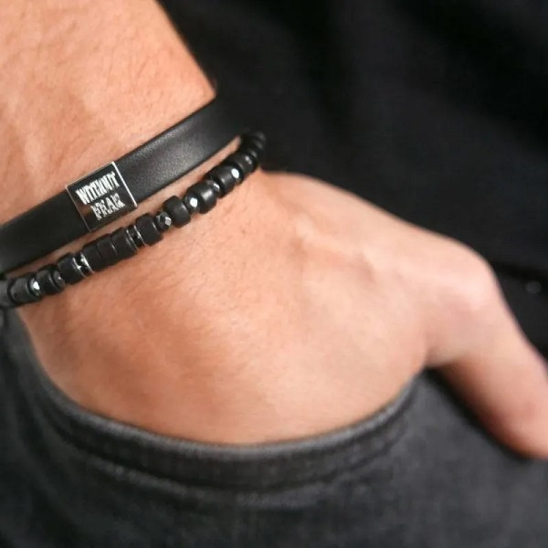 Personalized Bracelet for Him: